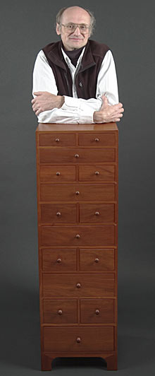 Chris Becksvoort & 15 drawer cabinet