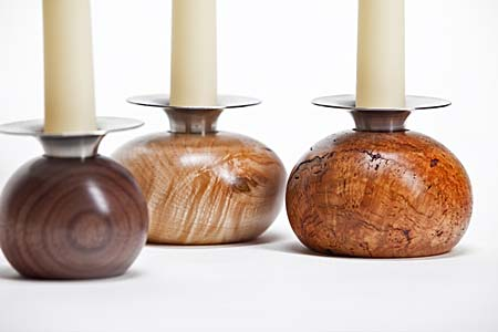 Round Candleholders
